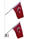 Teleskopik Bayrak Direği