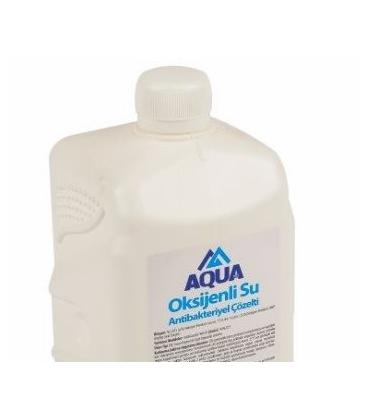 OKSİJENLİ SU - %3 Hidrojen Peroksit - Antibakteriyel Çözelti -1000 ml