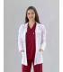 Bayan Doktor Spor Yaka Vizit Ceket Uzun Kol (Alpaka Kumaş)